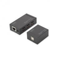 Адаптер USB 2.0 - UTP Cat5, 100m DIGITUS (DA-70142)